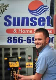 Sunset Air and Home Services - Southwest Florida - Air Conditioning Repair Tech Ryan