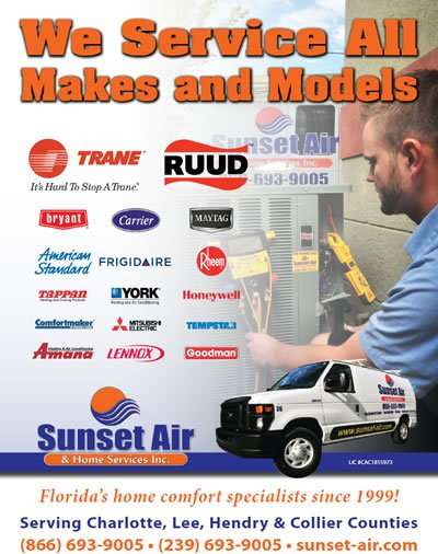 We service all Air Conditioner makes and models.