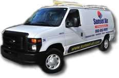 Sunset Air_Fort Myers_Mobile AC Service_AC Maintenance Van