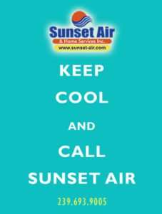 Sunset Air and Home Services - Keep cool - save air conditioning costs