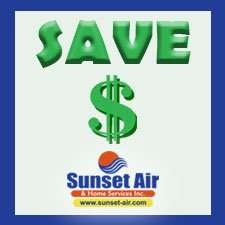 Sunset Air and Home Services - save money - save air conditioning costs