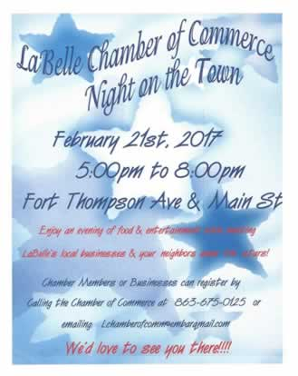 LaBelle Chamber of Commerce Night on the Town