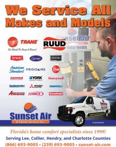 Sunset Air and Home Services - Southwest Florida - AC Repair - 400 x 506
