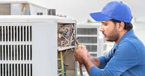 AC Capacitor Replacement - Sunset Air and Home Services - Fort Myers FL - 300 x 158