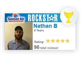 RockStar Nathan - 5 Star Service - Sunset Air and Home Services