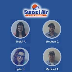 Shelbi - Stephen - Lydia - Marshall - Sunset Air and Home Services