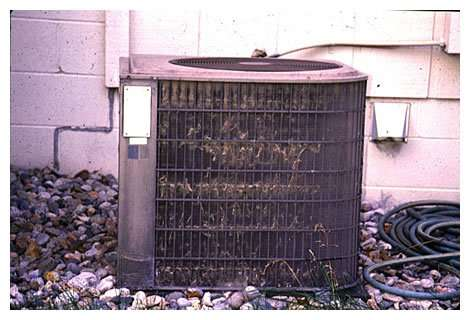 Water-Damaged-Condenser - Fort Myers Florida