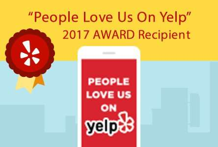 Yelp Award 2017 - Sunset Air and Home Services - Best AC Service Ever