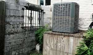 Flooded Air Conditioner - AC Installation