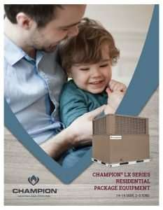 Champion Heating and Cooling - Package Unit - Home or Business