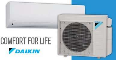 Daikin - Duct Free Air Conditioners - Mini Splits - Wall Units