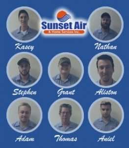 AC Service Department - Real AC Technicians - Sunset Air and Home Services