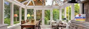 Sunroom In Home - Home Improvement Financing - Sunset Air and Home Services in Fort Myers Florida