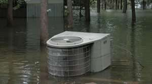 Hurricane Damaged Condenser - southwest florida - 300 x 165