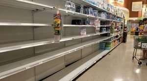empty store shelves - southwest florida - 300 x 165
