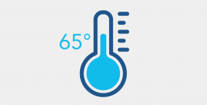 Thermostat setting is 65 degrees - Fort Myers - Sunset Air and Home Services