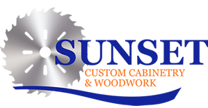 Sunset Custom Cabinetry and Woodwork Logo - Fort Myers Florida - 299 x 155