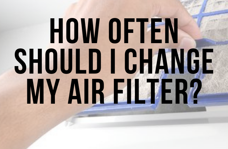 sign – when to change my air filter - Fort Myers - Sunset Air Home and Home Services