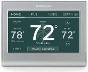 Wifi thermostat – Blank thermostat screen - Fort Myers - Sunset Air & Home Services
