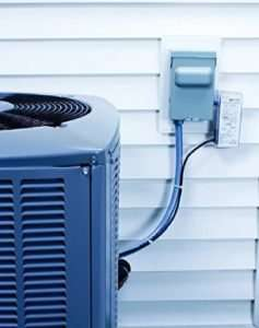 Unit with surge protector – Lightning and your AC unit- Fort Myers - Sunset Air & Home Services