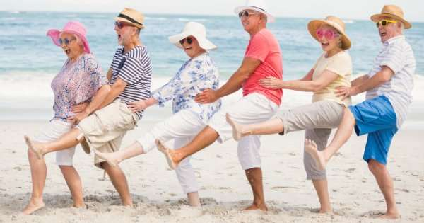 Senior generation on beach – AC Checklist for Snowbirds - Fort Myers - Sunset Air & Home Services