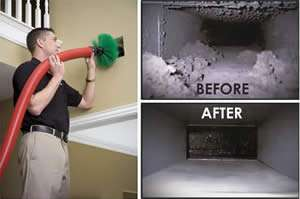 AC Duct Cleaning - Sunset Air and Home Services - Fort Myers Florida - 300 x 199