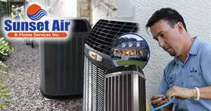 AC Replacement Technician - Sunset Air and Home Services - Fort Myers Florida - 300 x 158