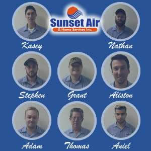 AC Service Department - Real AC Technicians - Sunset Air and Home Services - Fort Myers Florida - 300 x 300