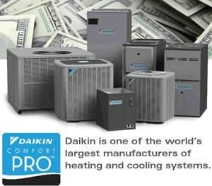 Daikin Is The Worlds Largest Cooling System Manufacturer - Fort Myers Florida - Sunset Air and Home Services - 300 x 263