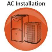 Graphic Link To AC Installation Page - Sunset Air and Home Services - Fort Myers Florida - 180 x 180