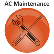 Graphic Link To AC Maintenance Page - Sunset Air and Home Services - Fort Myers Florida - 180 x 180