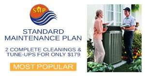 Standard AC Maintenance Plan - Sunset Air and Home Services - Fort Myers FL - 300 x 158
