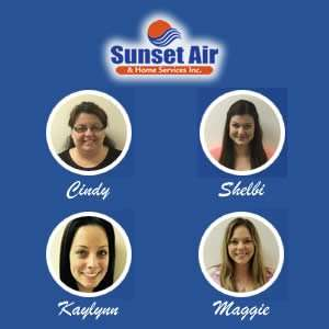 Customer Service Department Team Photo - Contact Us 24/7 - Fort Myers Florida - Sunset Air and Home Services - 300 x 300