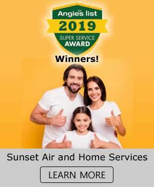 2019 Angies List Super Service Award Winners - Sunset Air and Home Services - Fort Myers FL - 300 x 365