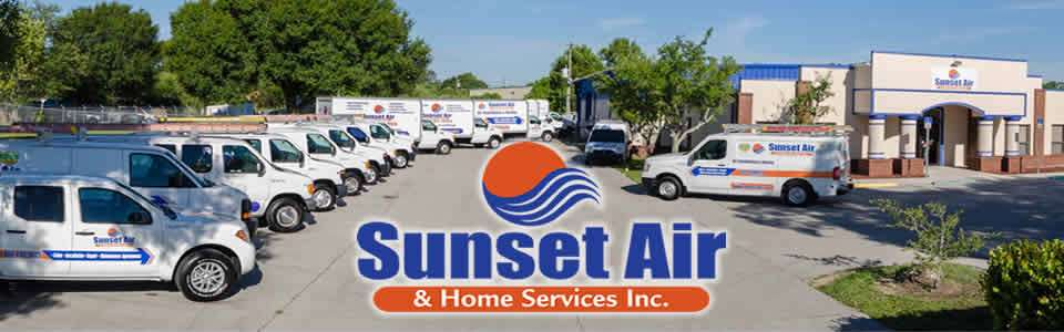 AC Repair Service Fleet - Sunset Air and Home Services - Fort Myers Florida - Feb 2020 - 960 x 300