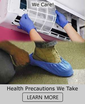 Health Precautions We Take - Sunset Air and Home Services - Fort Myers Florida
