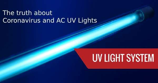 Coronavirus and UV Lights