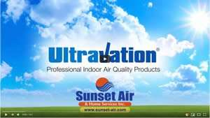 UltraVation UV Lights Video Link - Sunset Air and Home Services - Fort Myers Florida