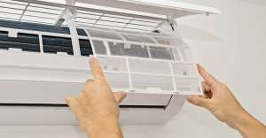 Cleaning Mini Split filter – Mini Split AC (Part 3)- Fort Myers - Sunset Air & Home Services