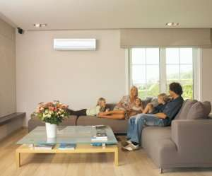 Living room ac – Ductless Mini Split AC (Part 2)- Fort Myers - Sunset Air & Home Services
