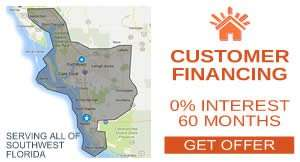AC Replacement Service Area - Home Improvement Financing - Sunset Air and Home Services - Fort Myers Florida