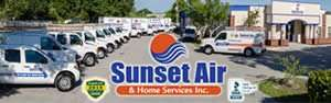 AC technician fleet - Sunset Air and Home Services – Fort Myers, FL