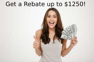 Rebate up to $1250 Now Available