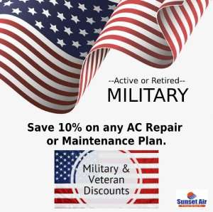 10% Discount for Veterans and Military