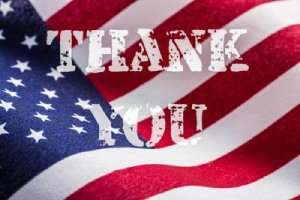 Thank you – 10% discount for veterans and military - Sunset Air & Home Services – Fort Myers