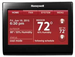 Honeywell Thermostat - Sunset Air and Home Services - Fort Myers, FL