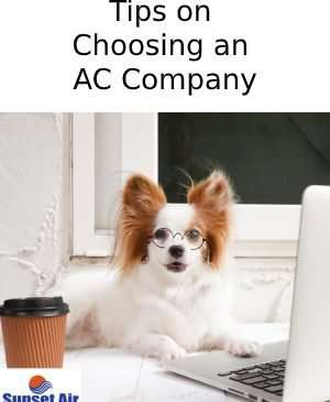 Tips on choosing an AC company