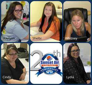 Sunset Air Customer Service Girls – Tips on Choosing an AC Company - Sunset Air and Home Services – Fort Myers