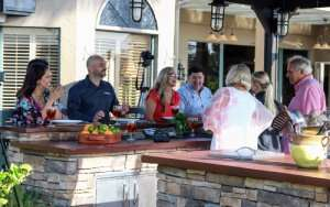 Cooking in oOutdoor kitchen– Cooling tips for summer Part 2 - Sunset Air and Home Services – Fort Myers-300 x 188 jpg