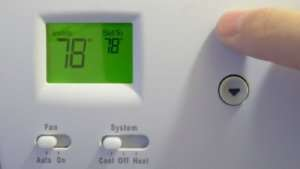 Thermostat at 78 degrees – 10 cooling tips for summer Part 1 - Sunset Air & Home Services – Fort Myers-300 x 169 jpg